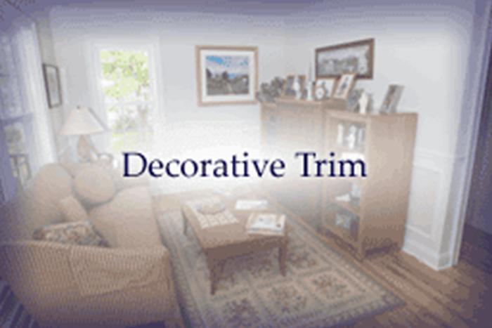 decorative trim
